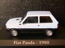 FIAT PANDA 1980 LIGHT BLUE RBA COLLECTABLES 1/43 BOITIER BLISTER BLEU CLAIR