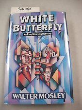 "1ST ED ""WHITE BUTTERFLY"" BY WALTER MOSLEY INSCRIBED! 3RD `EASY RAWLINS` NOVEL!"