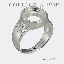 Authentic Kameleon Sterling Silver Ring Cut Out Shoulder Size 5 KR015#5  RETIRED