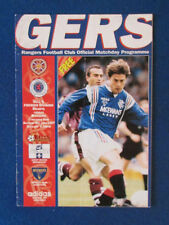 Hearts v Glasgow Rangers - 10/5/97 - Satellite Beam Back to Ibrox Programme