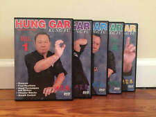 HUNG GAR KUNG FU TRAINING SERIES (5) DVD Set tiger crane leopard snake dragon