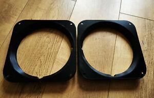 Black Headlight Bezel/Surround Pair Fit Series 3 Land Rovers + Defender 90 110