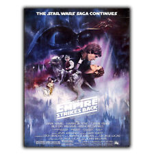 METAL SIGN WALL PLAQUE STAR WARS THE EMPIRE STRIKES BACK Movie Film poster