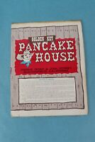 VTG 1950 GOLDEN KEY PANCAKE HOUSE SOUVENIR RESTAURANT BREAKFAST MENU BAKERSFIELD