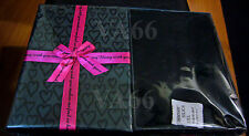 4pcs Jewellery Full Set Deep Gift Box Necklace Black with Pink Ribbon Gift Boxes