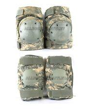 Military Bijans Knee Elbow Pad Set Army Acu Universal Camo Paintball Medium Vgc