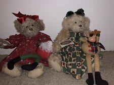 "Ganz C 00006000 ottage Collectible ""Becca� & ""Kristen� Christmas Bears"