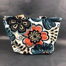 Kindred Spirit Style Handbag The Jude Floral Flowers Blue Purple Polka Dot ST4