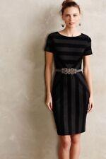New Anthropologie Maeve Geoplane Pencil Dress stretch size 6 $178 NWT