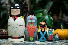 Space Ghost Nesting Doll Adult Swim Family Guy Rick Morty ATHF Venture Bros