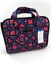 Vera Bradley Iconic Hanging Travel Organizer Mosaic Cosmetic Make Up Bag