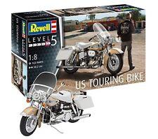 Revell 07937 1 8 US Touring Motorbike Model Kit