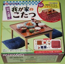 Re-Ment Miniature Original 2008 Kotatsu Table Furniture with Orange Bowl VHTF