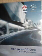 OPEL Chevrolet Navigation SD Karte EUROPA 2015 Navi 900 Navi 600 Fzg ab 08/2011