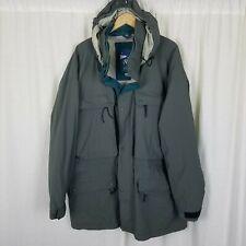 LL Bean Northern Col Outerwear Gore-Tex Hooded Nylon Anorak Jacket Mens XXL Tall