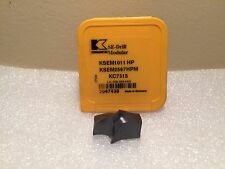 "Kennametal KSEM 1.0106"" 25.67MM HPM KC7315 Modular Drill INSERT Carbide 2047438"