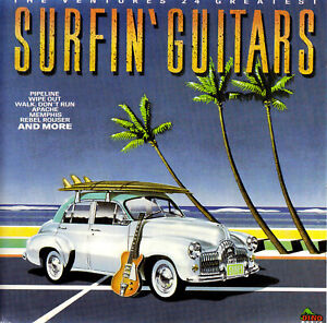 THE VENTURES / SURFIN' GUITARS - 24 GREATEST HITS