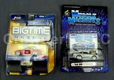 Muscle Machines '66 Mustang Big Time Muscle '65 Shelby Cobra 427 Diecast 1:64th