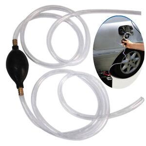 Hand Siphon Pump Petrol Diesel Water Oil Liquid Fuel Transfer Easy Use PumpHCA