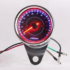 Night Light Tachometer Gauge for Kawasaki Sports Standard Bike Cruiser Touring