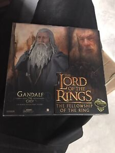 """Sideshow Collectibles Lord of the Rings GANDALF 12"""" Action Figure 1/6 Scale Exl"""