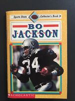 Bo Jackson Vintage 1991 Sports Shots Collector's Book #5 Football Cover