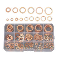24mm 140pc AST08 Solid Copper Washers Sump Plug Engine Washer Set 6mm