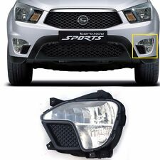 Front Fog Light Lamp LH for Oem Parts Ssangyong 2012-2014 Korando/Actyon Sports