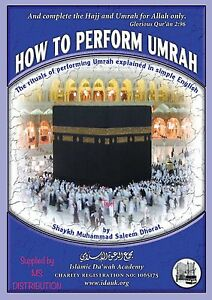 How To Perform Umrah Book