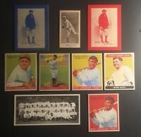 Babe Ruth Rookie Card Lot 1915 m101-5 #151 1914 Baltimore News #7 1933 Goudey 👌
