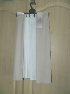 2 Pack M&S WAIST SLIPS IN ALMOND & WHITE Size 12 BNWT