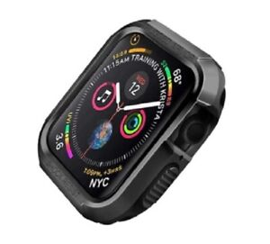 Apple watch protective Rugged case for apple watch 6, 5, 4 44mm Black