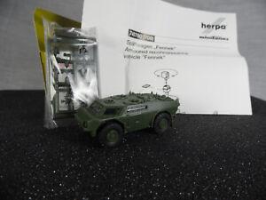 ht320, Roco / Herpa 740760 Spähwagen Fennek / Minitanks / NEUWARE