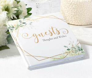Wedding Guest Book Blank Polaroid No Lines Signing Message Album Writing Wishes