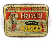 Vintage Tobacco Tin-The Herald Dark Cut Flake-Tobacciana