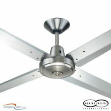 HUNTER PACIFIC TYPHOON MACH 3 CEILING FAN - 316 STAINLESS STEEL - NEW
