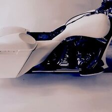 Harley Davidson 97-07 Stretched Gas Tank Shrouds And Extended Side Cover Combo