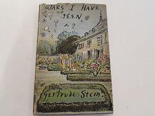 Wars I Have Seen, by Gertrude Stein-1945- Rare 1st Ed.,1st Prtg. Vintg. H/C Book