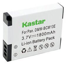 1x Kastar Battery for Panasonic Lumix DMW-BCM13 DMC-TZ40 DMC-TZ41 DMC-TZ55 TZ60