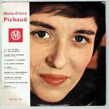 33T 25cm Marie-Claire PICHAUD Vinyle LE SEIGNEUR T'A REGARDE -ALLELUIA  RARE