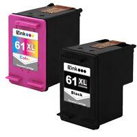 2 Pack HP 61XL 61 XL Black & Color Ink For ENVY 4504 4505 5530 5531 5535 & More