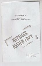 """1996 RARE """"TROUBLEMAKERS"""" # 1 RETAILER REVIEW COPY FN/VF ?"""