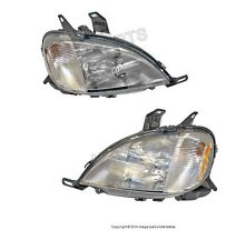 NEW Mercedes W163 ML320 ML430 Set of Left and Right Headlight Assembly OEM HELLA