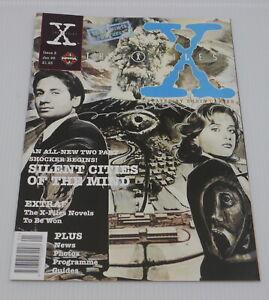 X-FILES MANGA NO. 8, UK COMIC BOOK, MAGAZINE SIZE, SIGNED MIRAN KIM COVER ART