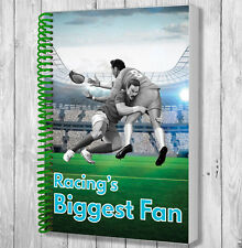 Racing Rugby Fan Notebook - Christmas / Birthday Gift / Stocking Filler