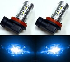 LED 50W H11 Blue 10000K Two Bulbs Head Light Replacement Motorcycle Bike