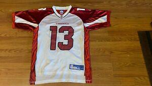 Kurt Warner Arizona Cardinals Reebok Jersey Size M NFL On Field Equipment