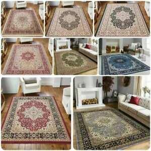 Luxury Non Slip Large Traditional Rugs Bedroom Living Room Rug Hallway Runner
