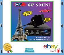 CB MOBILE RADIO CRT S-MINI MULTI-STANDARD 40 channel FM / AM