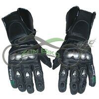Monster MotoGp Leather Motorbike Leather Gloves Motorcycle Gloves
